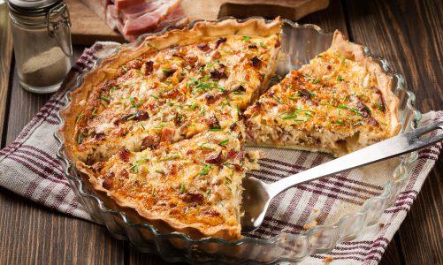 Snel een lekkere quiche maken? Gebruik kant-en-klaar deeg